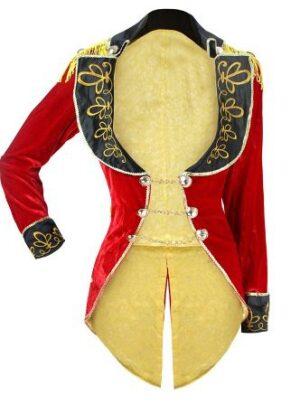 Womens Ringmistress Burlesque Costume Jacket