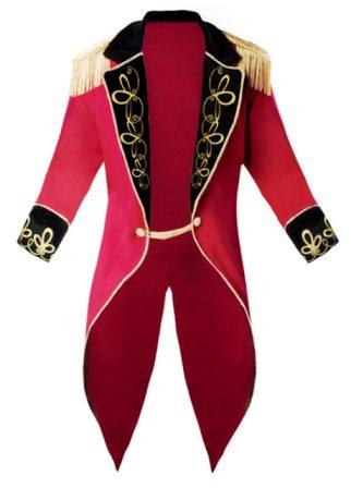 Mens Ringmaster Jacket Costume