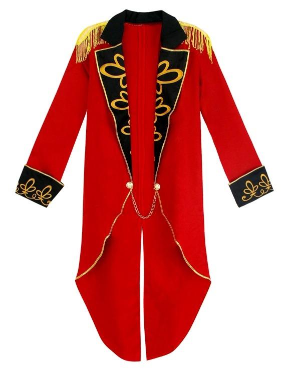 Men's Ringmaster Burlesque Tailcoat Jacket