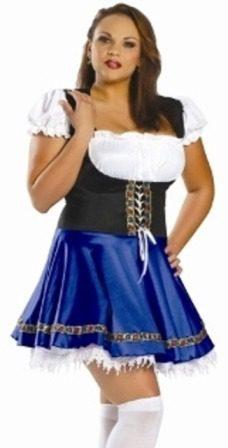 Plus Size Octoberfest Costume