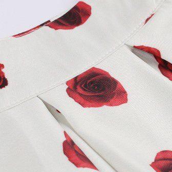 floral retro skirt