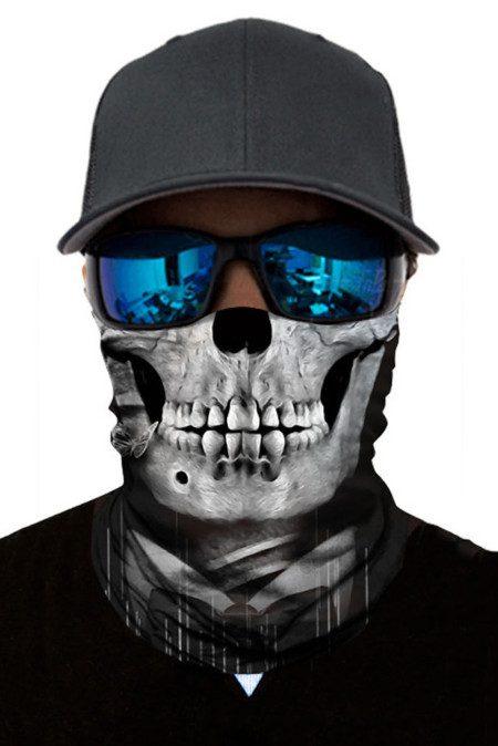 Skull Head Face Mask Bandana Neck Gaiter