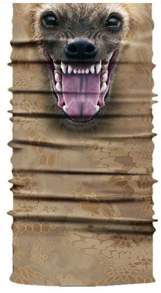 Face Mask Brown Dog