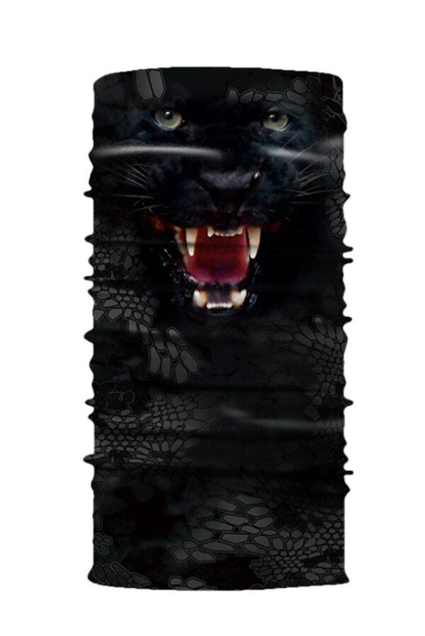 Face Mask Black Tiger